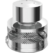 Square Flue Adaptor