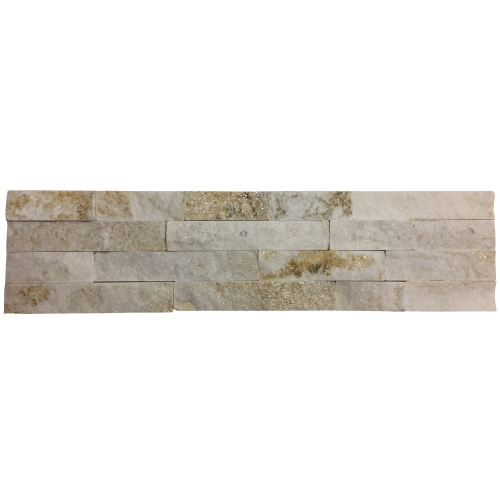 7 Tiles - Cream Quartzitesize 60x15cm 10-20mm