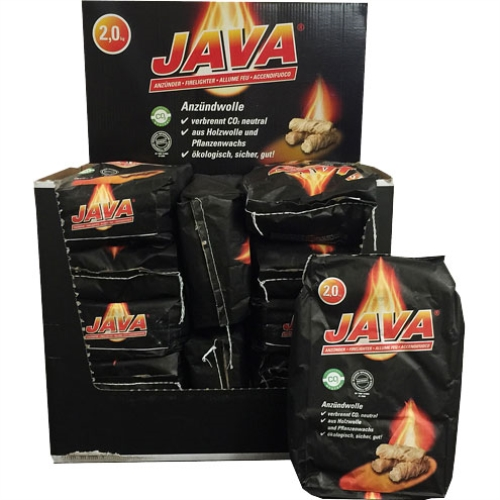 JAVA - Lighter Wood 2Kg 1 Pallet (16 Display Cartons  192 Bags)